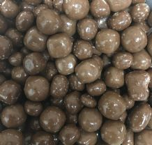 Milk Chocolate Sea Salt Fudge Balls 100g